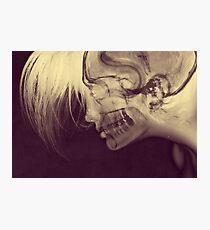 X-Ray Girl Photographic Print