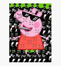 MLG Peppa Pig/Snoopy Dogg Photographic Print