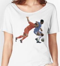 Basketball cartoon characters Women's Relaxed Fit T-Shirt