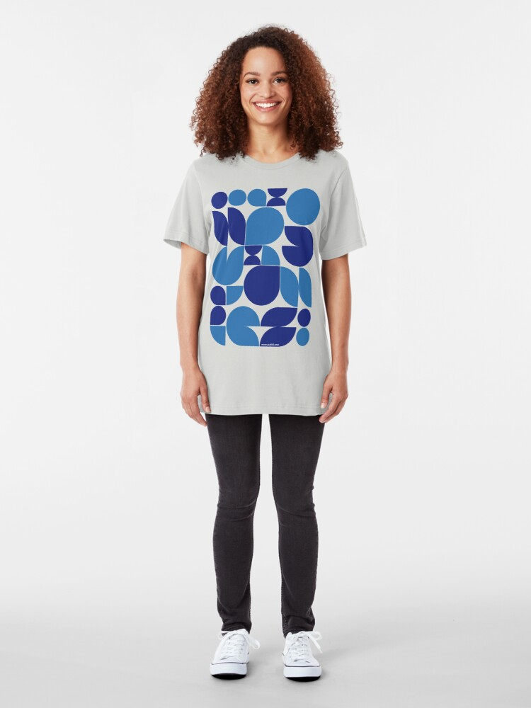 Alternate view of Expressions #01 Slim Fit T-Shirt