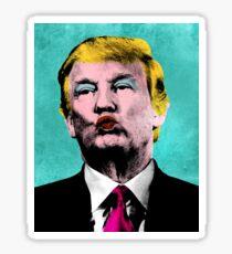 Trump Warhol Sticker