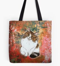 Norwegian Forest Cat Tote Bag
