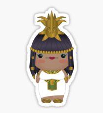 Queen Cleopatra Sticker