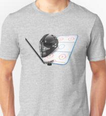 Ice hockey sports equipment T-Shirt