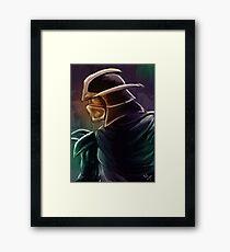 Shredder Foot Clan Grandmaster Framed Print