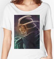 Shredder Foot Clan Grandmaster Women's Relaxed Fit T-Shirt