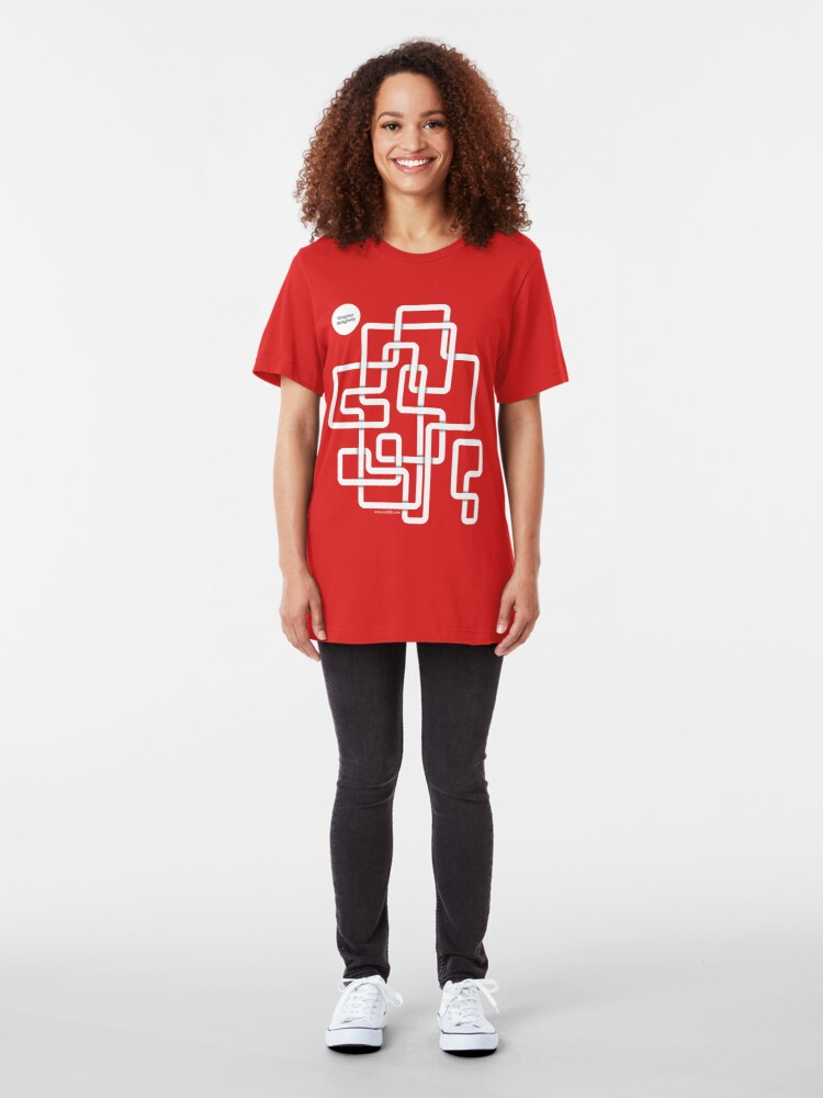 Alternate view of Graphic Spaghetti /// Slim Fit T-Shirt