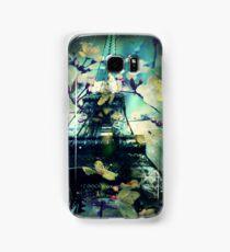 Paris in Spring, Green Samsung Galaxy Case/Skin