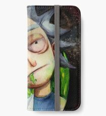 Rick (without Morty) Watercolor iPhone Wallet/Case/Skin