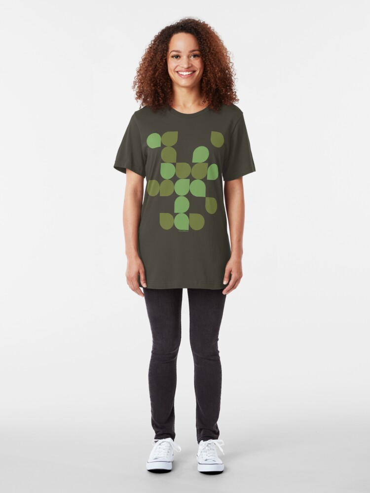 Alternate view of bubbles Slim Fit T-Shirt