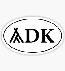 Tent ADK Sticker