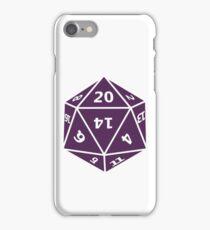 D20 iPhone Case/Skin