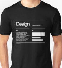 Design Slim Fit T-Shirt