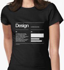 Design Women's Fitted T-Shirt