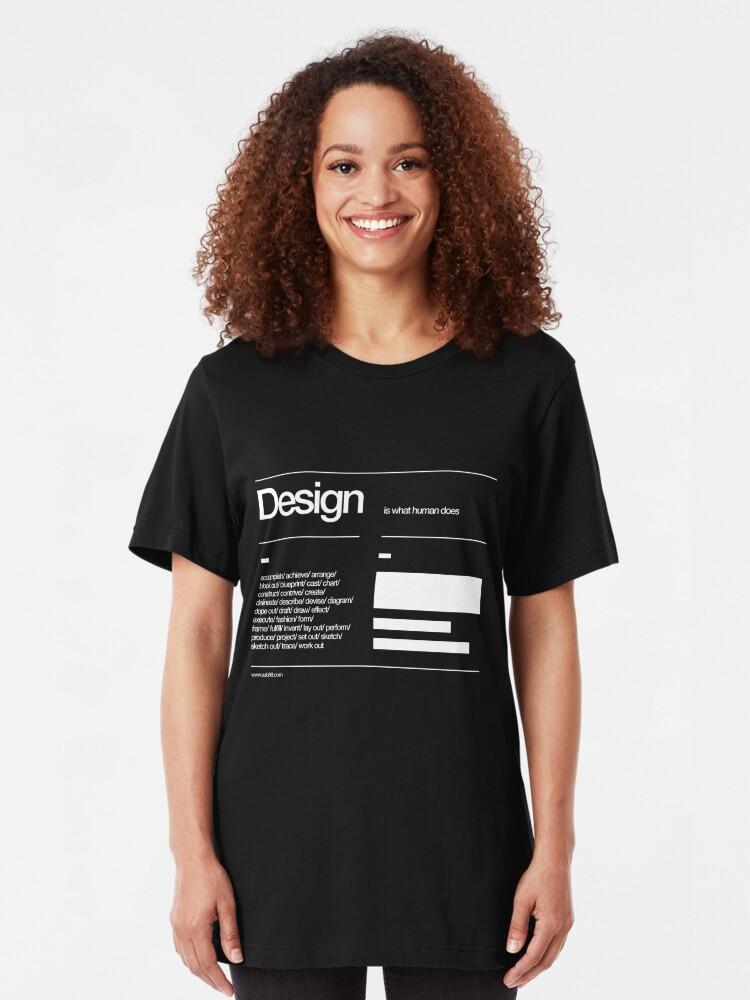 Alternate view of Design Slim Fit T-Shirt