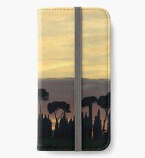 Sunset from Pineta, Lago Trasimeno iPhone Wallet/Case/Skin