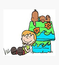 SNOOPY-DOO - SHAGGY BROWN Photographic Print