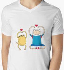 Jake and Finn Men's V-Neck T-Shirt