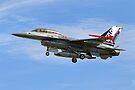 SABCA F-16BM Fighting Falcon  by Andrew Harker