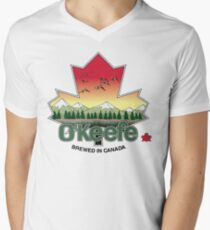 O'Keefe Brewery - Brewed in Canada Men's V-Neck T-Shirt