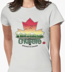 O'Keefe Brewery - Brewed in Canada Women's Fitted T-Shirt