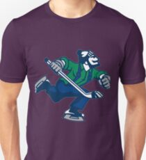 Eishockey gehen Canucks Slim Fit T-Shirt