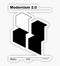 Modernism 2.0 (b) Sticker