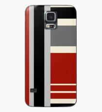 Art Red Hülle & Klebefolie für Samsung Galaxy