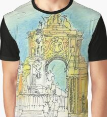 Terreiro do Paço. Graphic T-Shirt