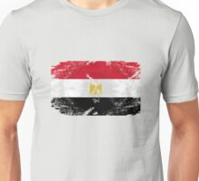 Egypt Vintage Flag Unisex T-Shirt