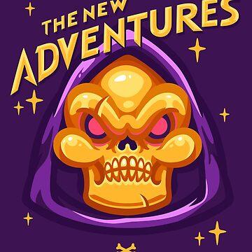 The New Adventures – Skeletor by oneappleinbox