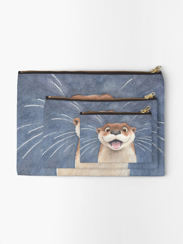 Alternate view of Otter! Zipper Pouch
