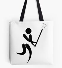 Olympic sports lacrosse pictogram Tote Bag