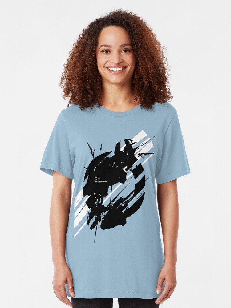 Alternate view of LAMBDA CALCULUS Slim Fit T-Shirt