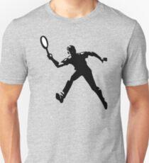 Tennis player Unisex T-Shirt