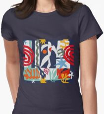 Inspired by Matisse Women's Fitted T-Shirt