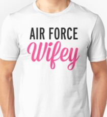 Air Force Wifey Quote T-Shirt