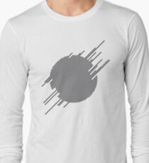 ABshapes in a disc  Long Sleeve T-Shirt