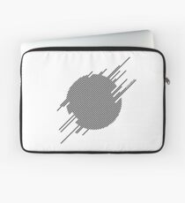 ABshapes in a disc  Laptop Sleeve