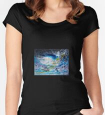 Walking on the Water Women's Fitted Scoop T-Shirt