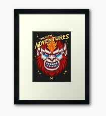 The New Adventures – Beast Man Framed Print