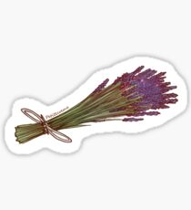 Dried Lavender Sticker