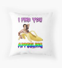 I Find You Appeelling Throw Pillow