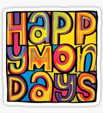 Happy Mondays Logo Sticker