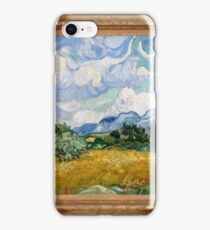 Vincent Van Gogh - Wheat Field with Cypresses, Impressionism. Van Gogh iPhone Case/Skin