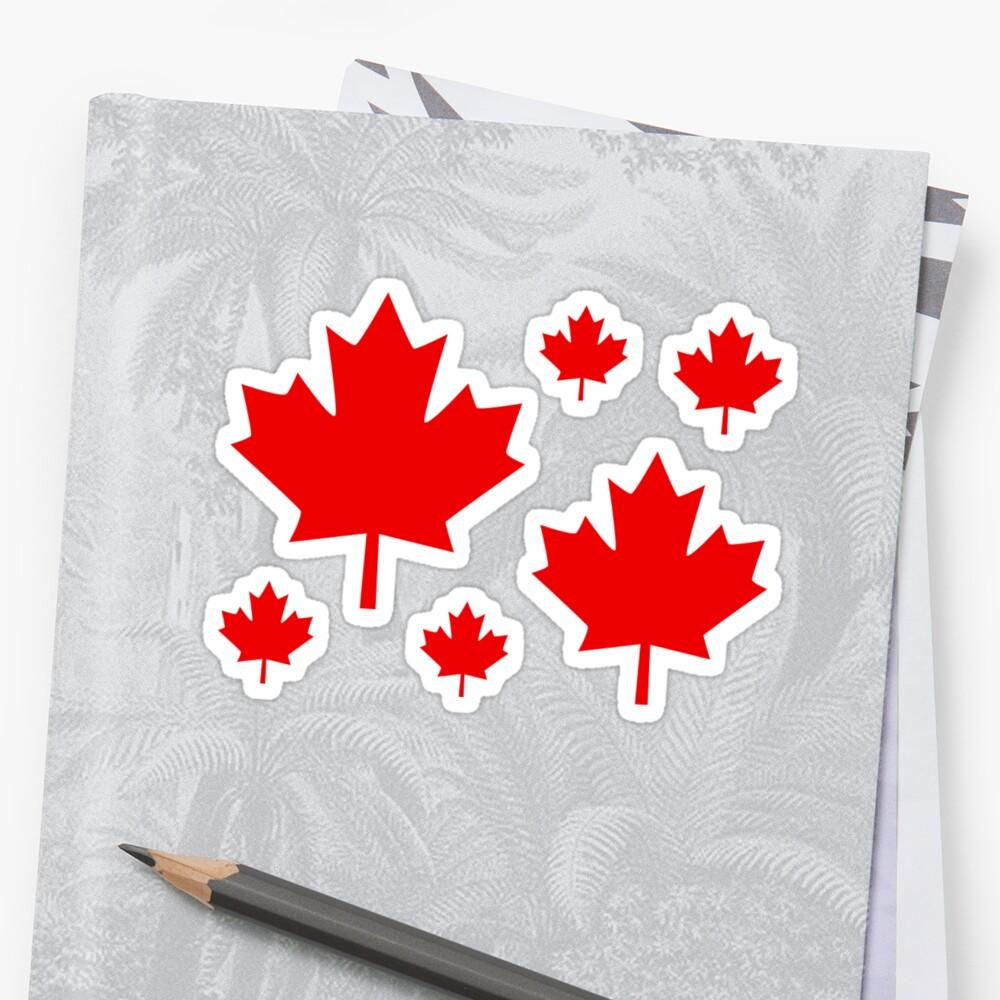 Canada Maple Leaf Flag Emblem by Garaga