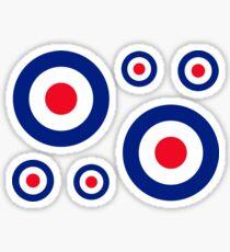 Classic Roundel Target Graphic Sticker