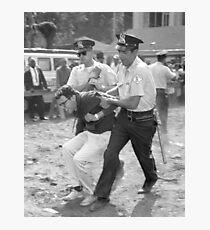 Bernie Sanders Chicago Protest Shirt Photographic Print