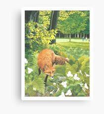 Sly Green Canvas Print