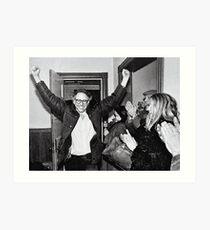 Bernie Sanders Protest 60's 1960's Art Print